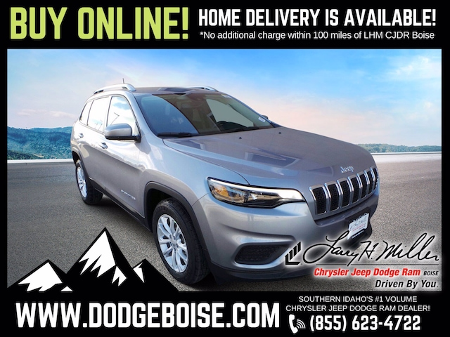 New 2021 Jeep Cherokee LATITUDE FWD Sport Utility for sale near you in Boise, ID