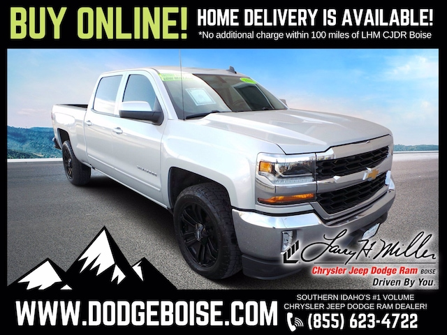 Used 2017 Chevrolet Silverado 1500 LT CREW CAB 4X2 ONE OWNER ONLY 47K!!! Truck Crew Cab for sale near you in Boise, ID