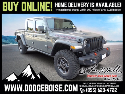 Featured New 2021 Jeep Gladiator RUBICON 4X4 Crew Cab for sale near you in Boise, ID