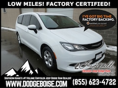 Used 2017 Chrysler Pacifica LX FWD LOW MILES! FACTORY CERTIFIED! Van for sale near you in Boise, ID