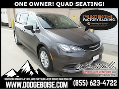 Certified Pre-Owned 2017 Chrysler Pacifica Touring ONE OWNER! QUAD SEATING! Van for sale near you in Boise, ID
