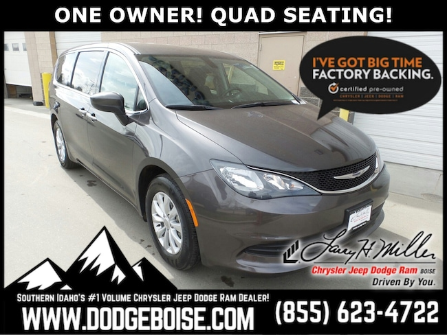 Used vehicles 2017 Chrysler Pacifica Touring ONE OWNER! QUAD SEATING! Van for sale near you in Boise, ID