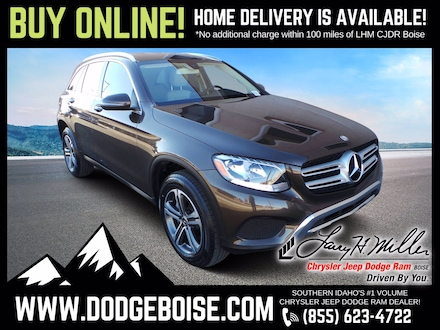 Featured Used 2017 Mercedes-Benz GLC 300 300 GLC FACTORY WARRANTY ONLY 36K!!! SUV for sale near you in Boise, ID
