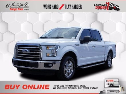 Featured Used 2016 Ford F-150 XLT Truck SuperCrew Cab for sale near you in Peoria, AZ