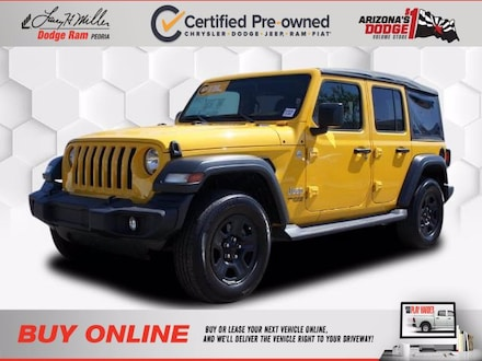 Featured Used 2018 Jeep Wrangler Unlimited Sport SUV for sale near you in Peoria, AZ
