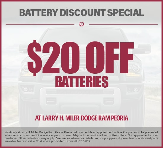 Dodge, RAM Parts Specials in Peoria, AZ   Auto Parts Center