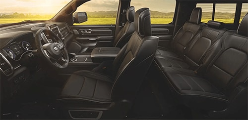 2020 RAM 1500 interior seating