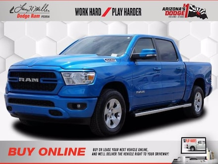 Featured New 2021 Ram 1500 BIG HORN CREW CAB 4X2 5'7 BOX Crew Cab for sale near you in Peoria, AZ