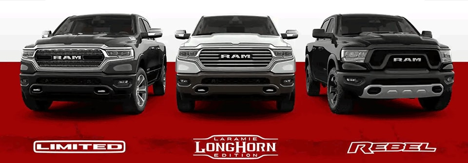 2020 RAM 1500 Upper Trims