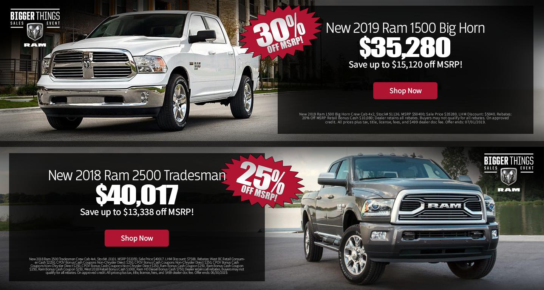 Dutch Miller Dodge >> Larry H Miller Dodge Peoria New 2018 2019 Dodge Ram Dealer