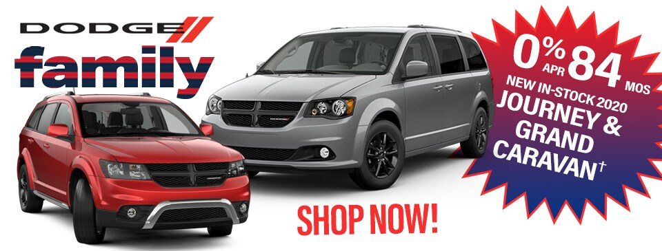 0% APR for 84 months on in-stock New Dodge Journey & Grand Caravan in Peoria, AZ!