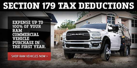 Section 179 Tax Deductions For Businesses Larry H Miller Dodge