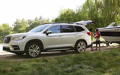 5,000 lb. towing capacity on the Ascent in Boise and Meridian