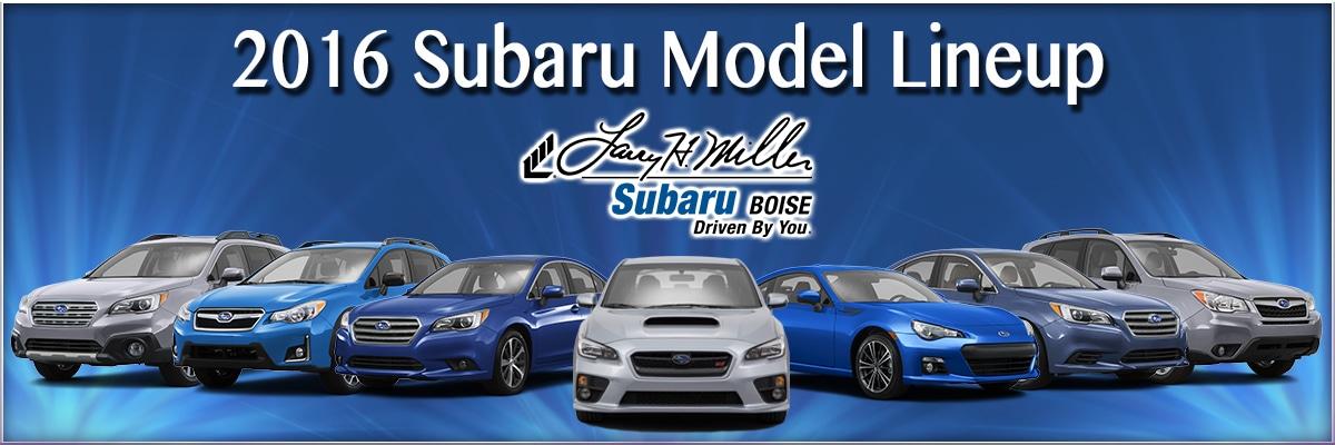 2016 subaru model lineup in boise. Black Bedroom Furniture Sets. Home Design Ideas