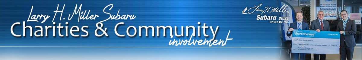 Boise charity and community involvement