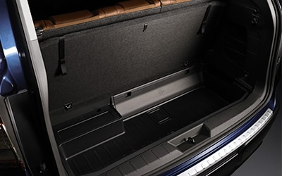 underfloor storage in Subaru Ascent