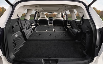 large cargo area in Subaru Ascent
