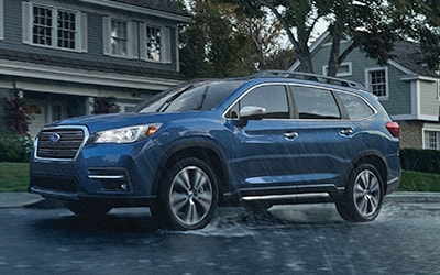 Symmetrical All-Wheel Drive and X-MODE to keep you and your family safe and on the road