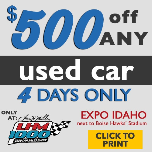 Boise Jeep Dealer: LHM 1000 Used Car Sale In Boise