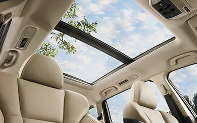 Panoramic Moonroof in Subaru Ascent in Boise and Nampa