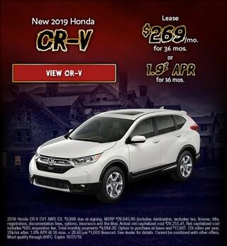 2019 Honda CR-V October Special