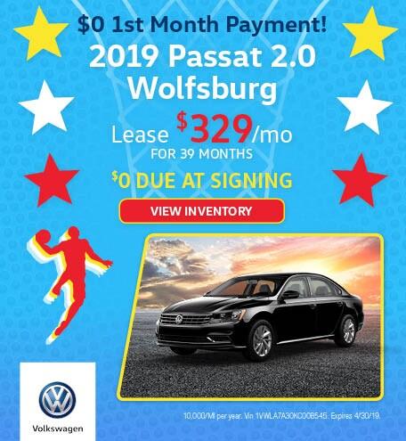 New 2019 Volkswagen Passat