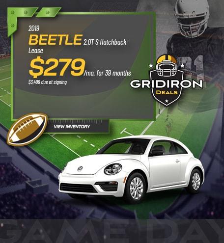2019 Beetle 2.0T S Hatchback