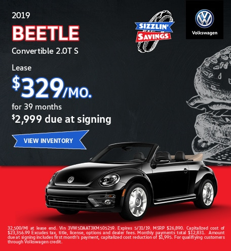 2019 Beetle Convertible 2.0T S