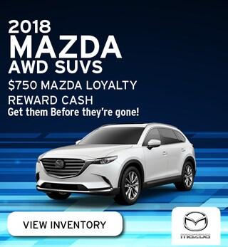 2018 Mazda AWD SUVS