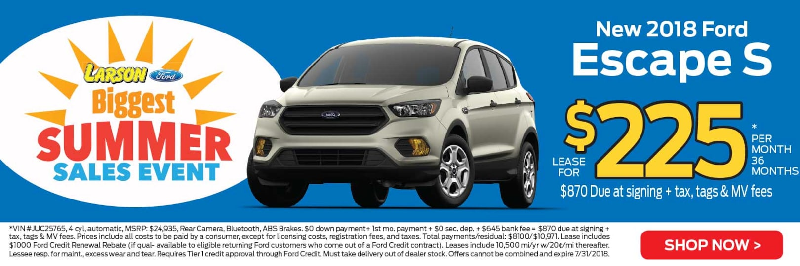 New & Used Cars in Lakewood, NJ | Larson Ford