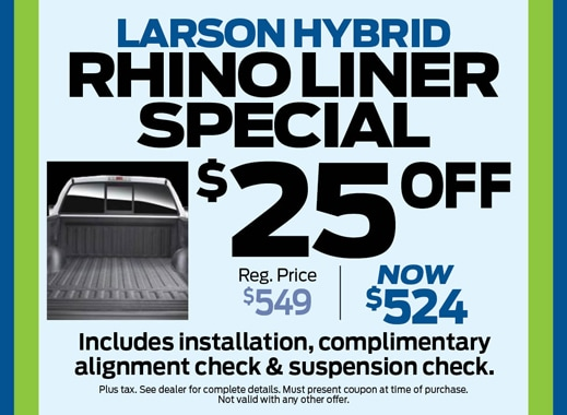 parts specials from larson ford, lakewood nj