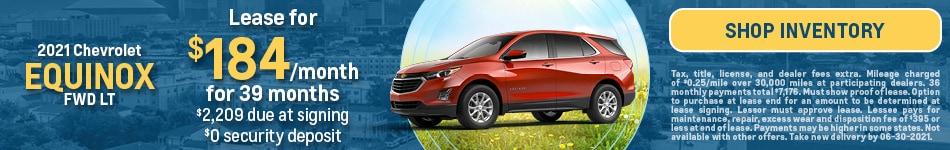 2021 Chevrolet Equinox FWD LT