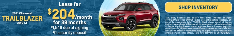 2021 Chevrolet Trailblazer AWD LT