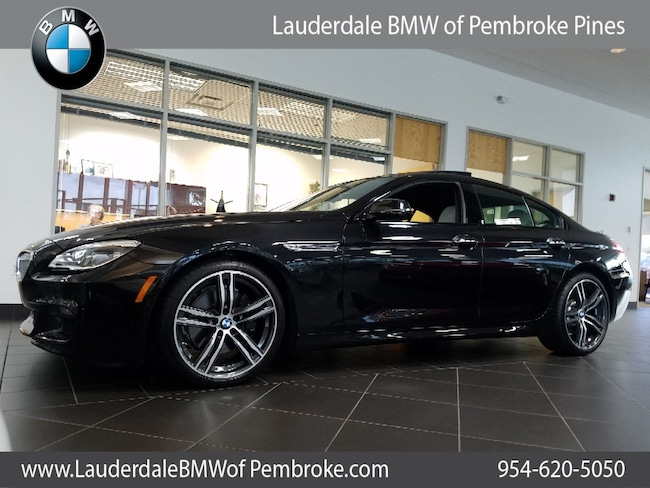 2019 bmw 650i gran coupe for sale in fort lauderdale fl serving north miami beach. Black Bedroom Furniture Sets. Home Design Ideas
