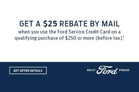 Get a $25 Rebate by Mail