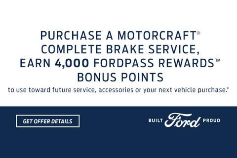 Complete Brake Service Bonus Points Rewards