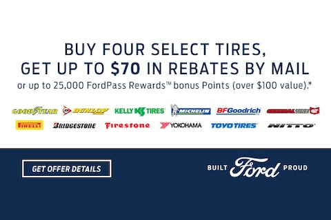 Ford Summer Tire Offer