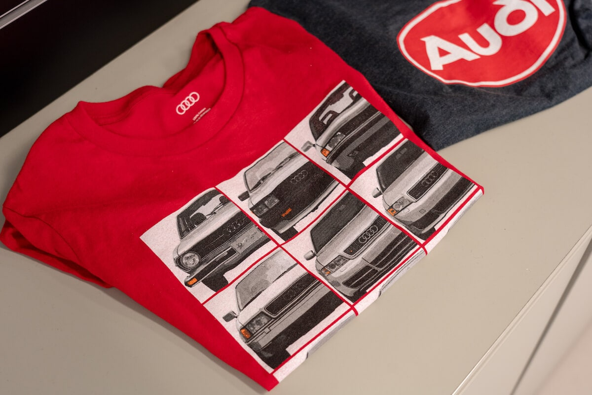 Audi apparel for sale at Audi Westmont