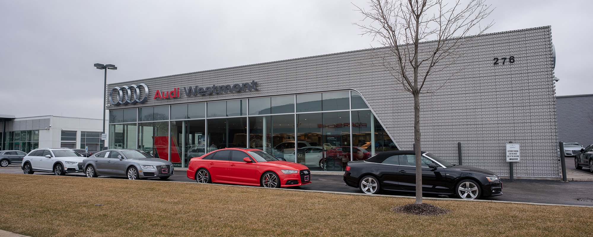 Outside view of Audi Westmont