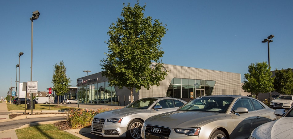 Exterior view of Audi Serving Downers Grove