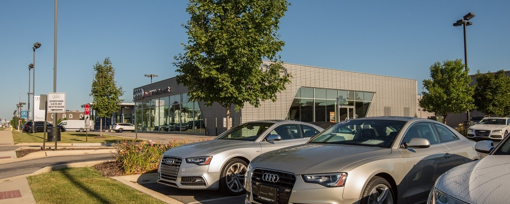 Street view of Audi Westmont
