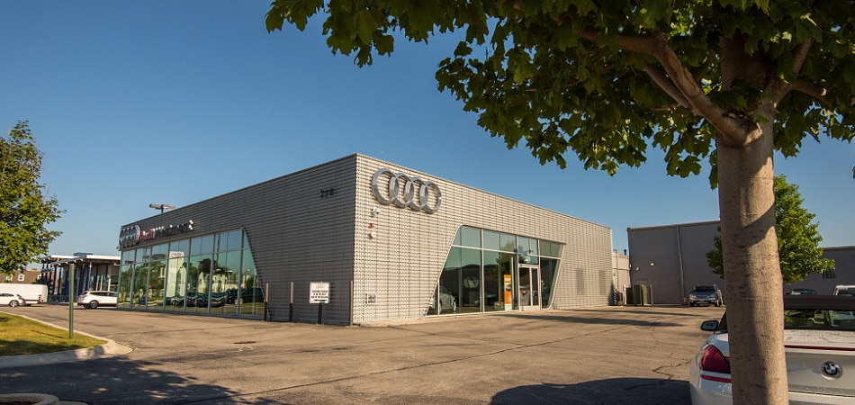 Exterior view of Audi Serving Chicago