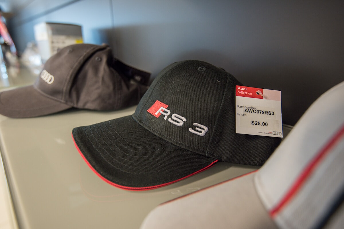 Audi hats for sale at Audi Westmont