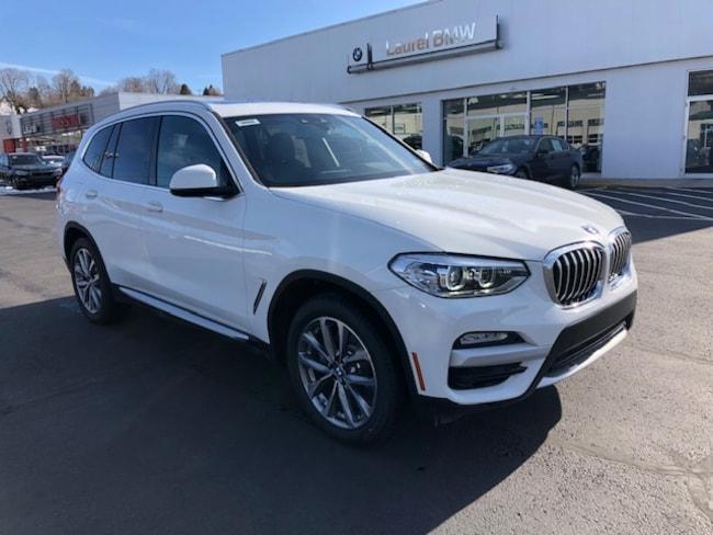 New 2019 BMW X3 xDrive30i SAV in Johnstown, PA