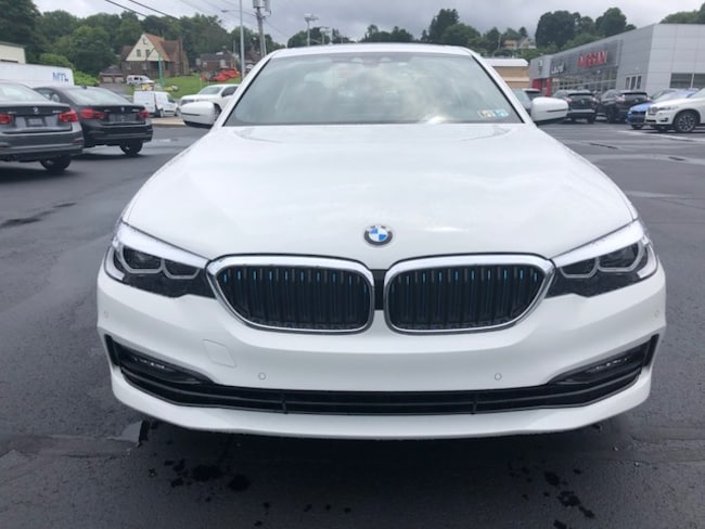 New 2018 BMW 530e For Sale in Johnstown PA | VIN: WBAJB1C54JB374335