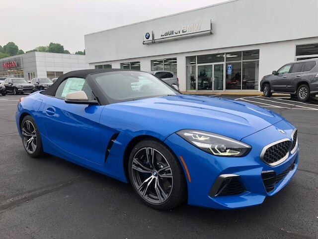 Featured new 2020 BMW Z4 M40i Convertible for sale in Johnstown, PA