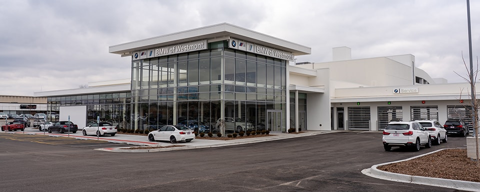 Exterior view of Laurel BMW of Westmont