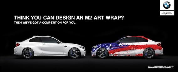 M2 Art Wrap Design Competition | Laurel BMW of Westmont