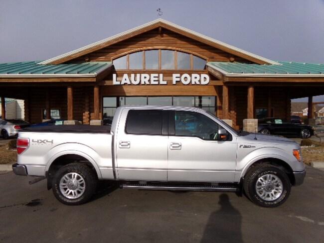 2014 Ford F-150 Lariat Truck SuperCrew Cab