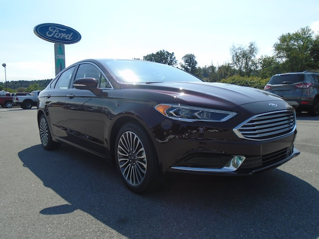 New 2018 Ford Fusion SE SE Front-wheel Drive SEDAN Windber PA